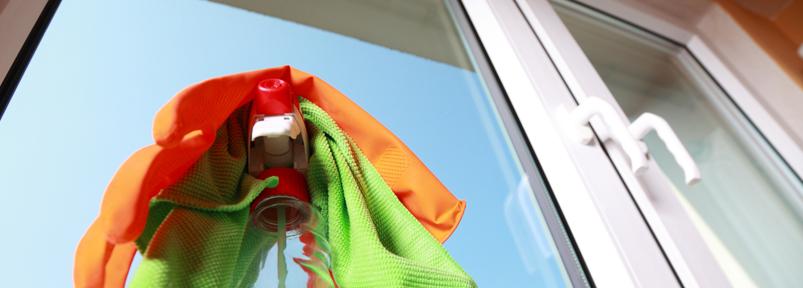 pulizia serramenti pvc