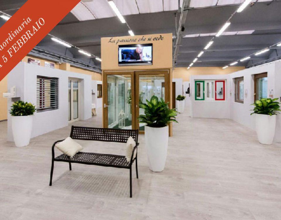 Scegli i tuoi nuovi infissi in PVC! Apertura Straordinaria Showroom di Curno domenica 5 febbraio