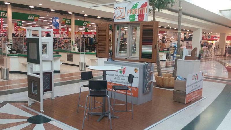 Serramenti Milano: il nostro PVC al centro commerciale Acquario di Vignate