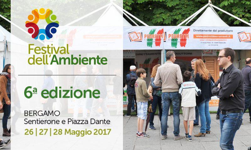 I nostri serramenti in pvc per il Festival dell'Ambiente 2017
