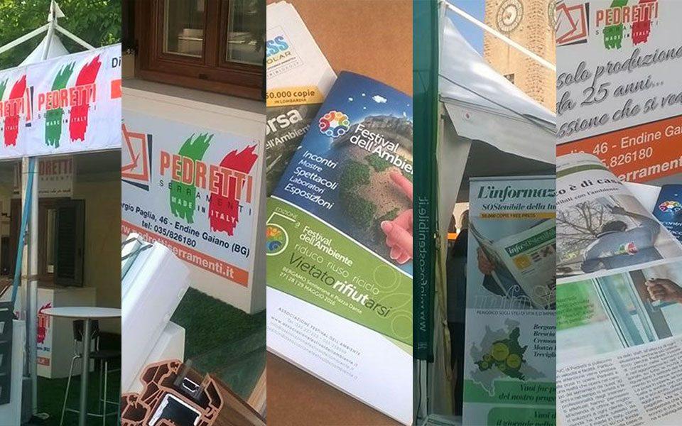 Serramenti in PVC Protekto: la novità di Pedretti al Festival dell'Ambiente