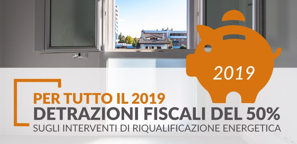 detrazioni fiscali per tutto il 2019
