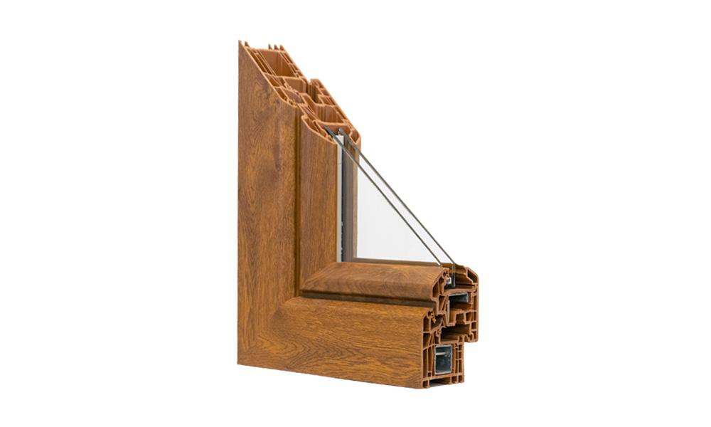 Angolare finestra in pvc uniko