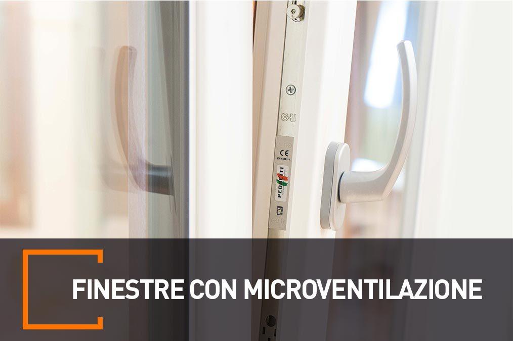 finestre con microventilazione