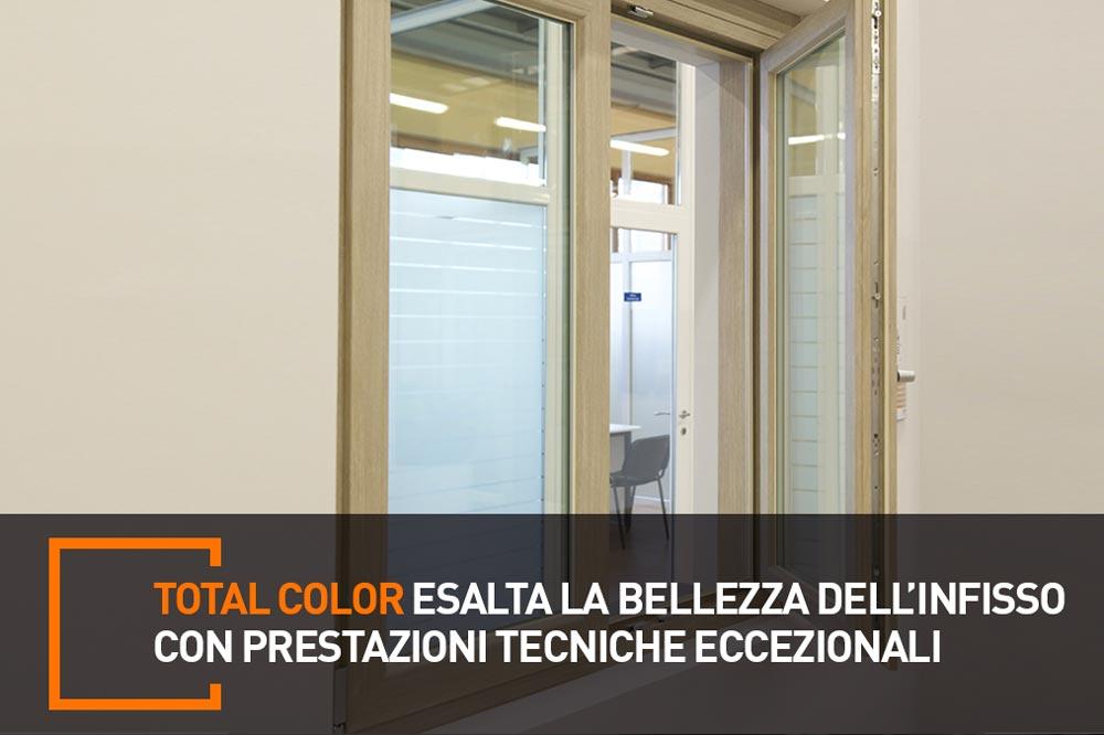 serramenti in pvc total color