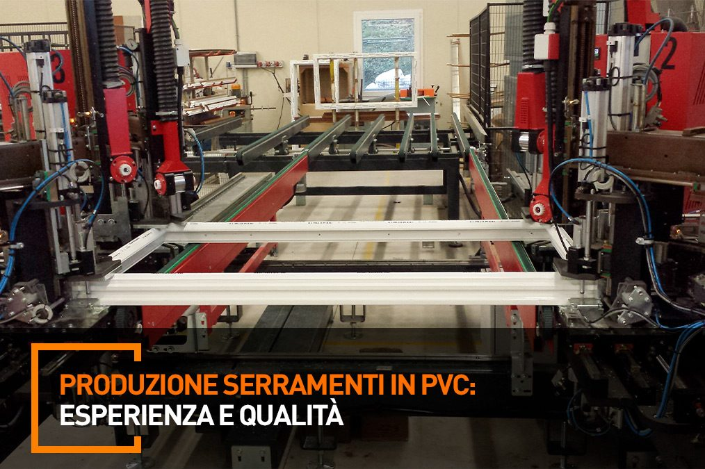 Produzione serramenti in PVC