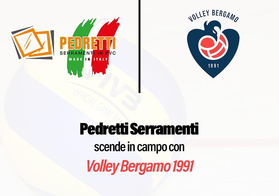 Pedretti sponsor Volley Bergamo